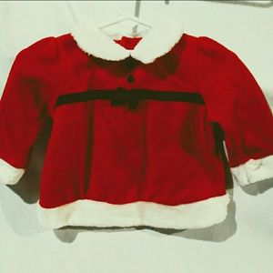 Baby Girl Red Dress by First Moment Size 3-6mos